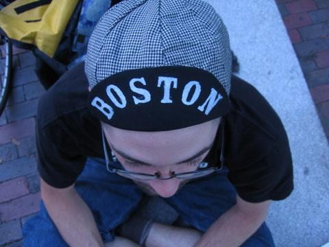 boston biker hat brim